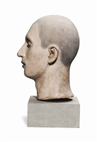 head of a man by john davies
