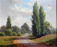 the country road by erik (sir) langker