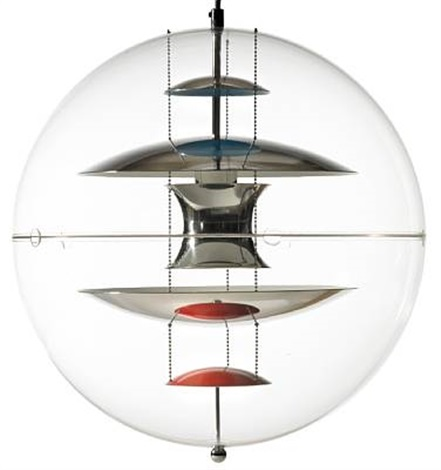 vp globe 40 pendant by verner panton