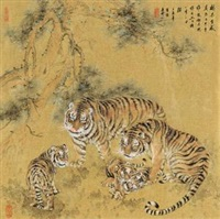 虎 by jiang wei