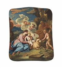 the madonna and child, with saint john the baptist by italian school-northern (17)