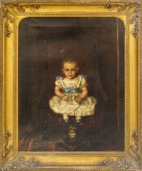 hannah bullard, aged 4, of marblehead massachusetts by erastus salisbury field