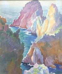 the faraglioni, capri, italy by katherine milhous