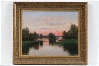 auringonlasku by erik abrahamsson