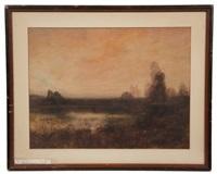 twilight, pelham bay by edward b. gay