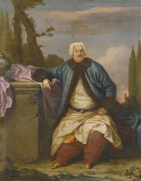 portrait of a merchant of the levant company by andrea soldi