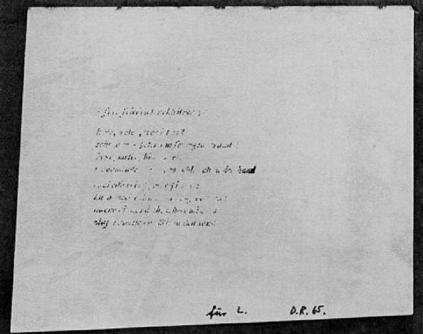 Gedicht Für Friedrich Achleitner By Dieter Roth On Artnet