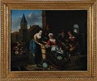 market scene by joseph dorn