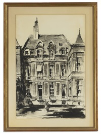 parisian hotels particulaires (3 works) by john hulse