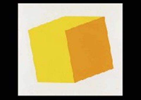 yellow/orange by ellsworth kelly