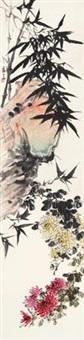 傲霜图 by hu hezhai