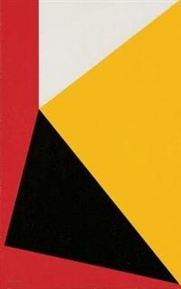 triangular composition by albert newall