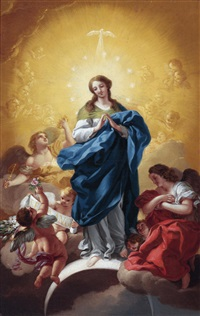 maria immaculata by d. francisco bayeu y subias