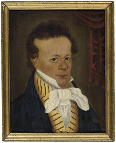 portrait of a gentleman by american school prior hamblen 19