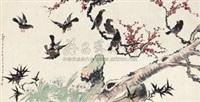 送春图 by hu hezhai