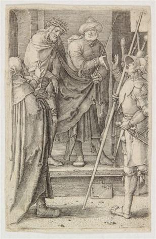 cristo mostrato al popolo by lucas van leyden