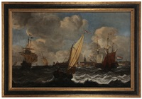 shipping with view of vlissingen by dutch school (18)