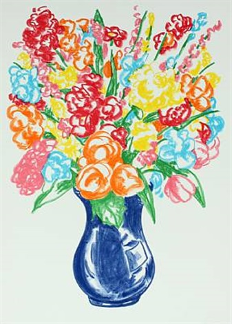 flowers by jeff koons