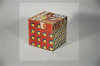 cubismo blocks (prototype for puzzle cube) by milton glaser