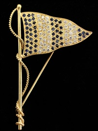brooch by a.g.a. correa