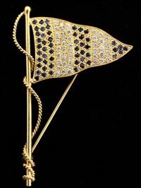 brooch by a.g.a. correa