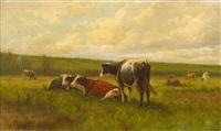 kühe auf der weide by william frederick hulk
