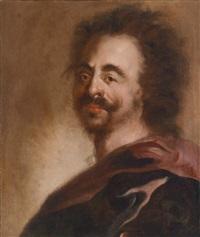 pasticcio-porträt zar peters des großen von rußland by anthoni schoonjans