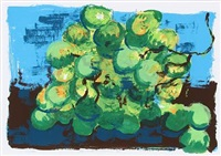 green grapes by rainer fetting
