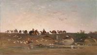 cavaliers, en asie mineure by charles emile vacher de tournemine