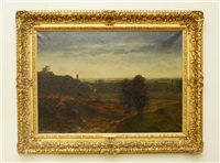 landscape by american school