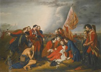 the death of general wolfe by benjamin west