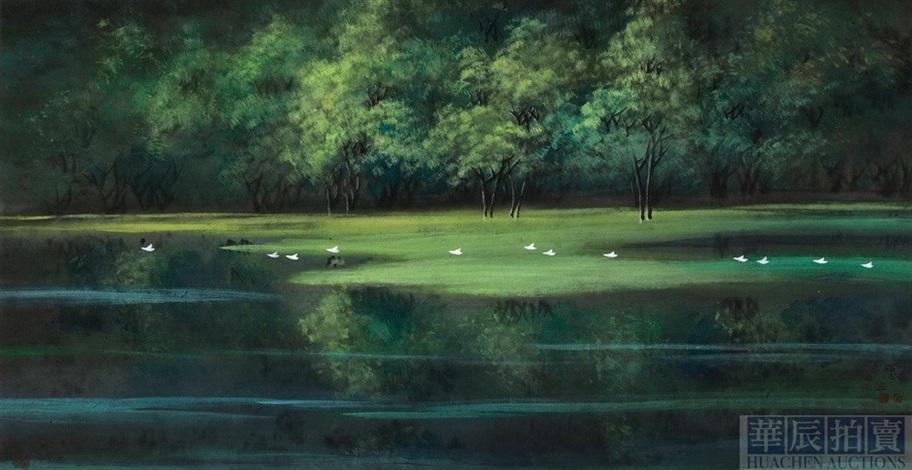 landscape by liu yuansheng