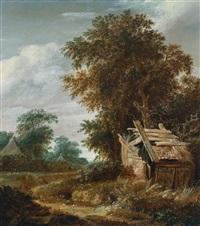 waldlandschaft by cornelis gerritsz decker