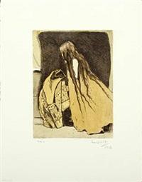 victorian image with a girl by hans henrik lerfeldt