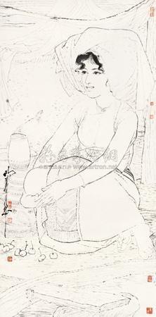 含情无语 (figure) by dai mingde