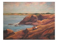 rocky shoreline by isabel rogers