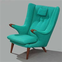 wingback chair (model 91) by svend skipper