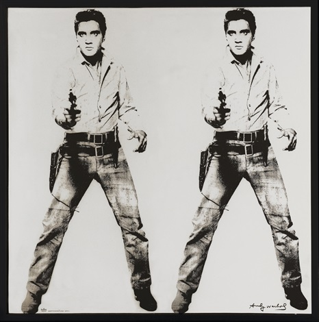 elvis platin by andy warhol