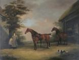 mr thomas cole's carriage horses by dean wolstenholme the elder