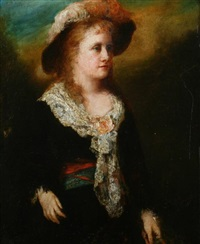 portrait of mrs. james carroll frazer (née van rensselaer) by george da maduro peixotto