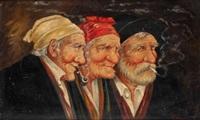tres cabezas de anicanos by roman arregui