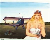 annah 0 l'aviatrice (for chloé-trop plein d'écumes) by peter riverstone