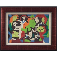 abstract compositions by walter quirt