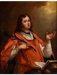 halbfigurenbildnis des heiligen laurentius by anonymous-italian-genoa (18)