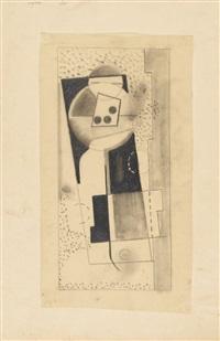 ohne titel (abstrakte komposition) by max ackermann