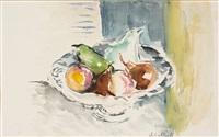 stillleben mit fruchtschale by gretchen wohlwill