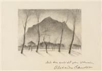 landschaft in oberbayern by alexander kanoldt