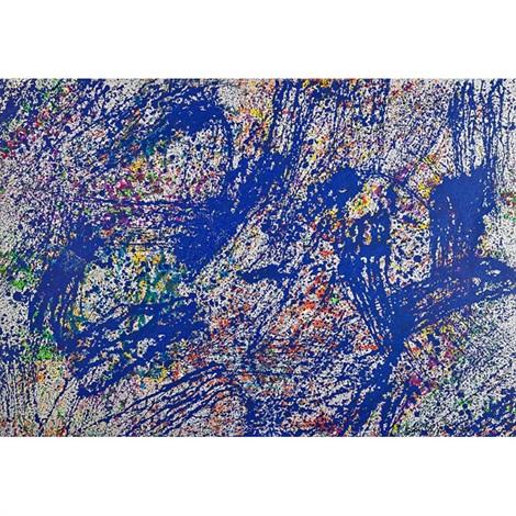 lattice memory (4 works) by sam gilliam