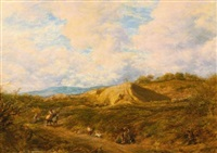 redhill common, surrey by john linnell