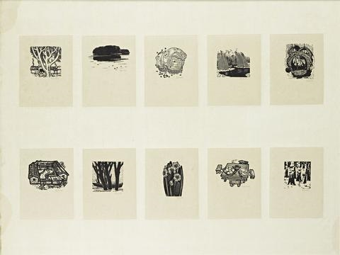 ten prints set of 10 by xu bing